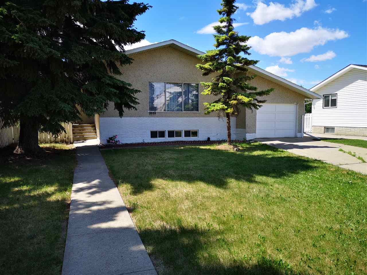 For Sale: 3512 71 Street, Edmonton, AB | 4 Bed, 2 Bath House for $272,500. See 6 photos!