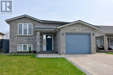 House for sale at 3514 Innerkip  Windsor Ontario - MLS: 19016590