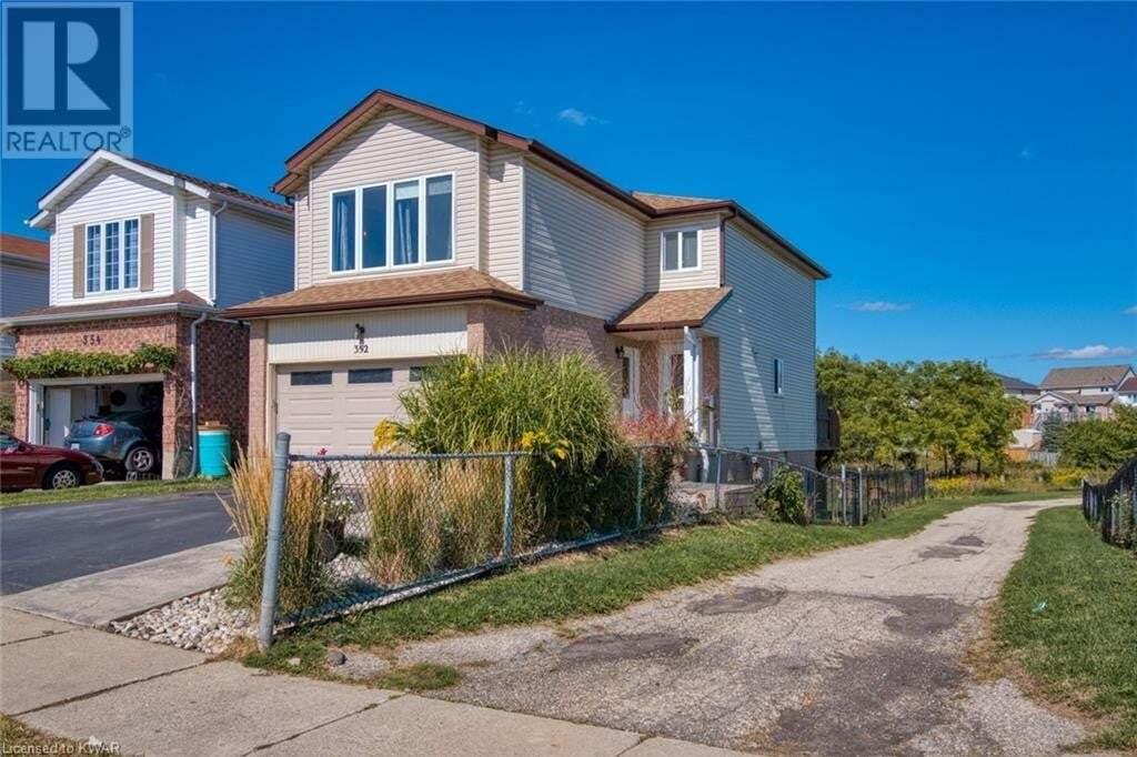House for sale at 352 Bankside Dr Kitchener Ontario - MLS: 40022805