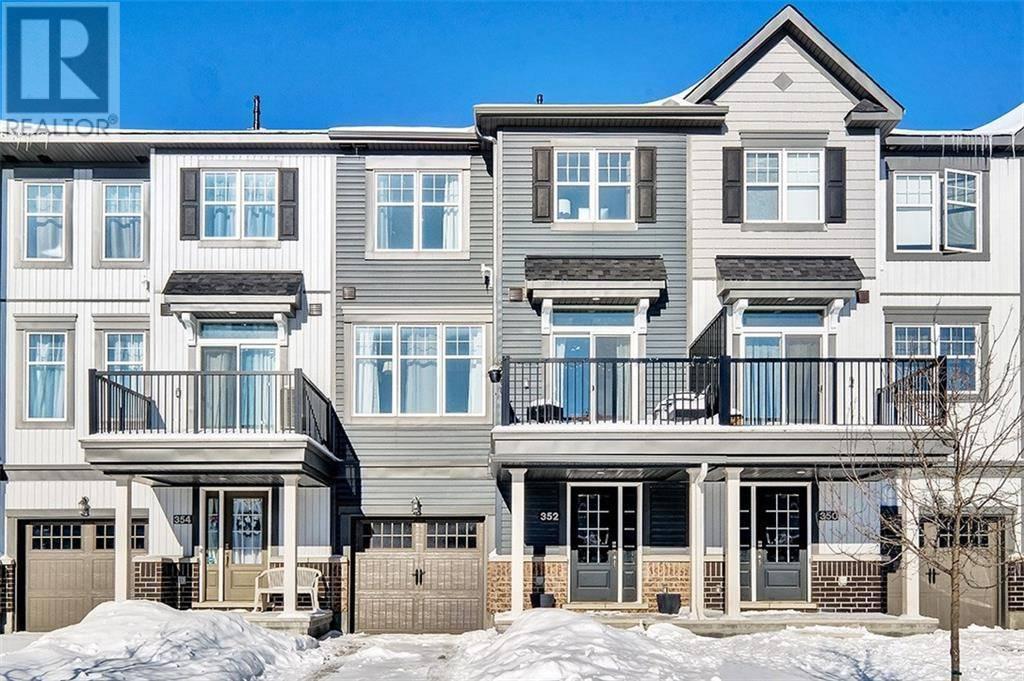 Townhouse for sale at 352 Mountain Sorrel Wy Ottawa Ontario - MLS: 1179349