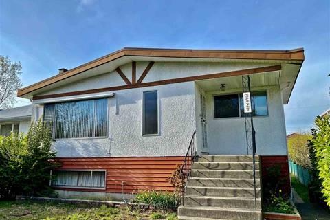 House for sale at 3527 46th Ave E Vancouver British Columbia - MLS: R2450304