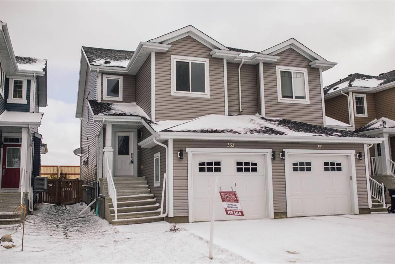 Townhouse for sale at 353 Simmonds Wy Leduc Alberta - MLS: E4178390