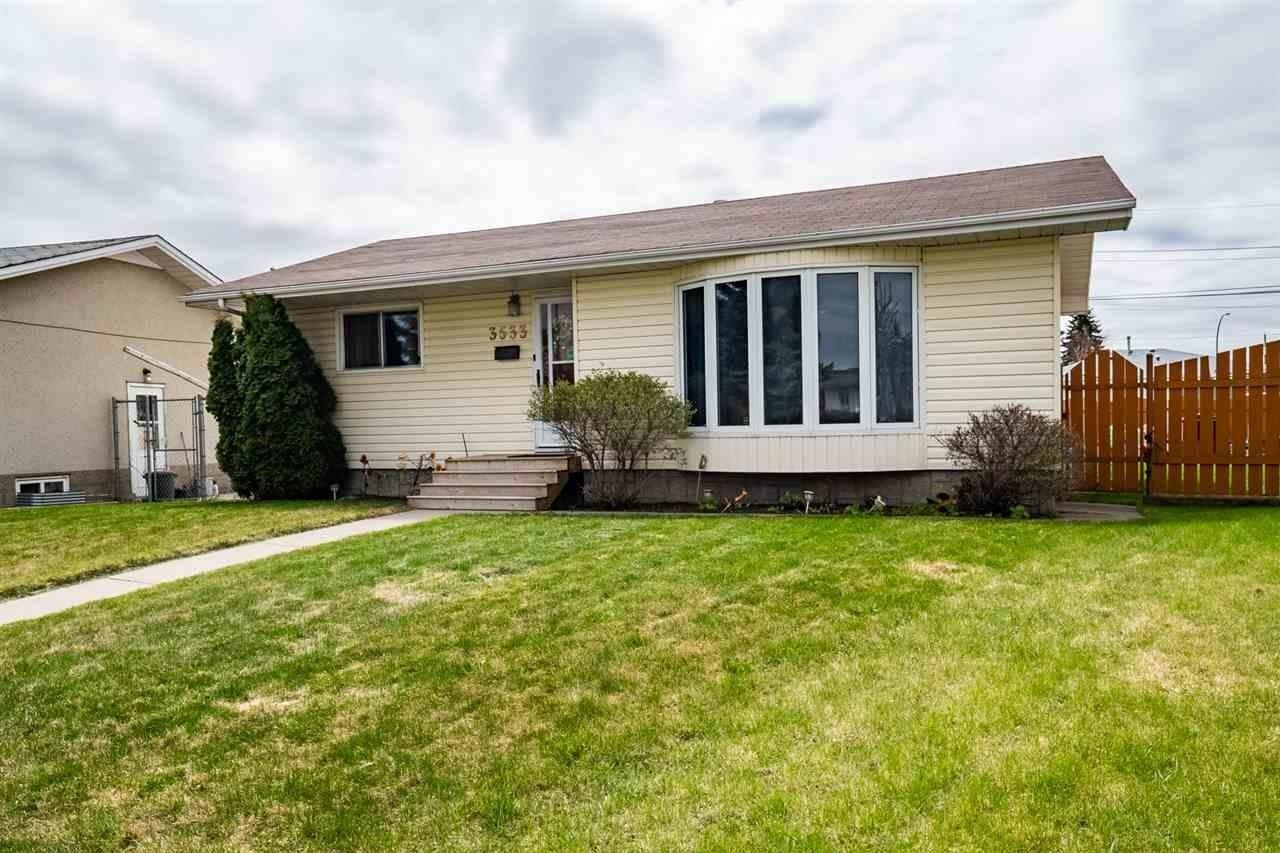 House for sale at 3533 121a Av NW Edmonton Alberta - MLS: E4197434