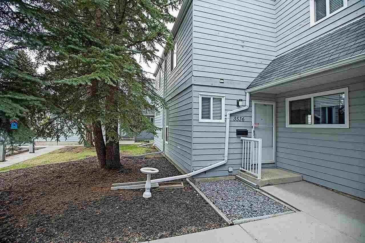 Townhouse for sale at 3536 42 St NW Edmonton Alberta - MLS: E4194411