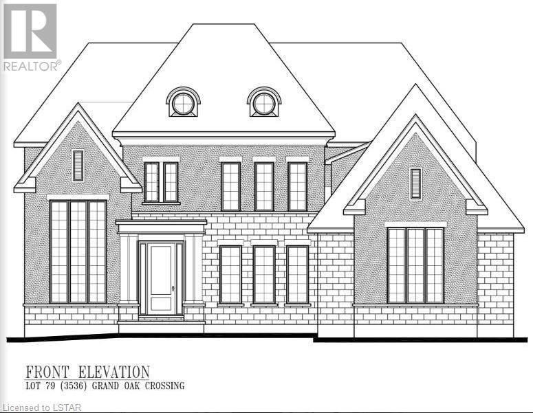 House for sale at 3536 Lot 79 Grand Oak Crossing London Ontario - MLS: 234109