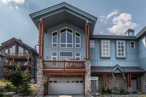Townhouse for sale at 355 Moonshine Cres Big White British Columbia - MLS: 10173370