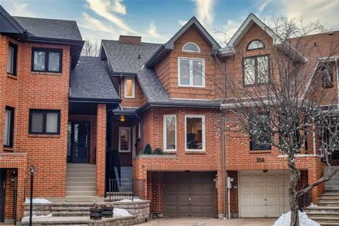 Townhouse for sale at 356 Davisville Ave Toronto Ontario - MLS: C4697385