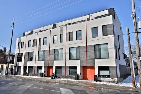 Townhouse for sale at 356 Harbord St Toronto Ontario - MLS: C4706943