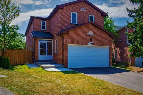 House for sale at 3561 Bertrand Rd Mississauga Ontario - MLS: W4554254