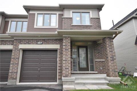 House for sale at 357 Mountain Sorrel Wy Ottawa Ontario - MLS: 1217032