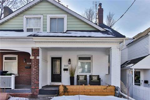 Townhouse for sale at 357 Riverdale Ave Toronto Ontario - MLS: E4694665
