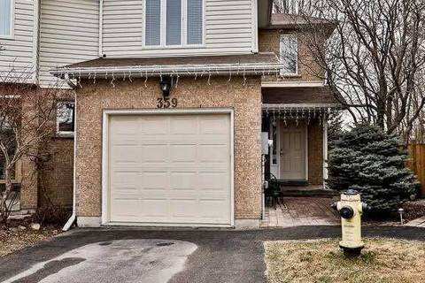 Townhouse for sale at 359 Riddell Ct Newmarket Ontario - MLS: N4744251