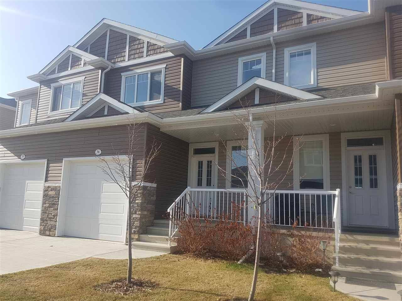 Townhouse for sale at 18230 104a St Nw Unit 36 Edmonton Alberta - MLS: E4163945