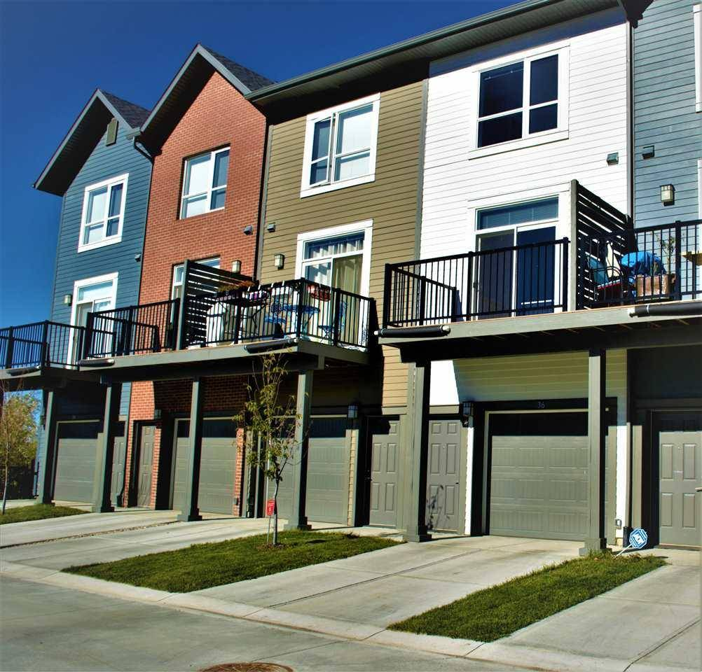 Townhouse for sale at 2560 Pegasus Blvd Nw Unit 36 Edmonton Alberta - MLS: E4176384