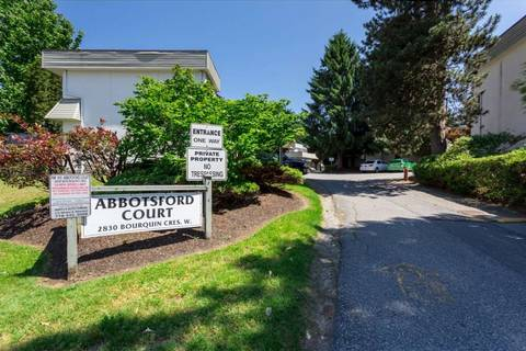Townhouse for sale at 2830 Bourquin Cres W Unit 36 Abbotsford British Columbia - MLS: R2373424