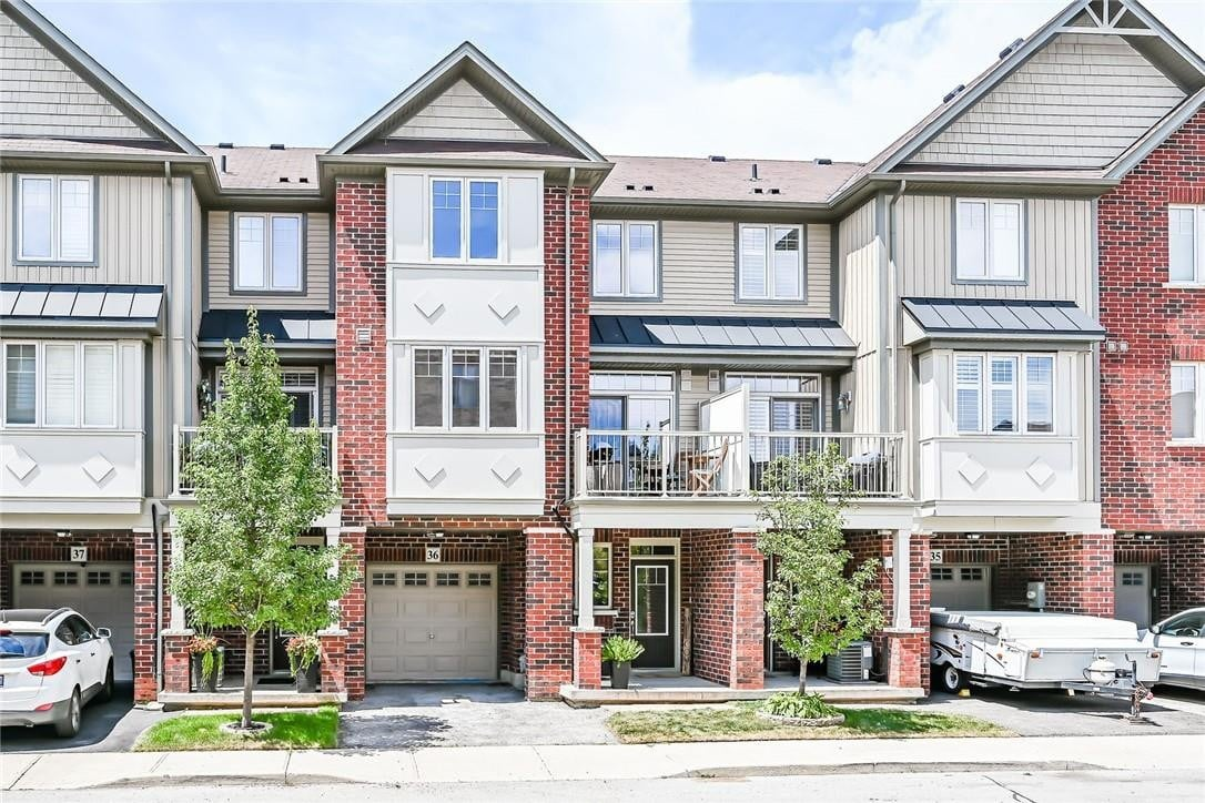 Townhouse for sale at 310 Fall Fair Wy Unit 36 Hamilton Ontario - MLS: H4084320