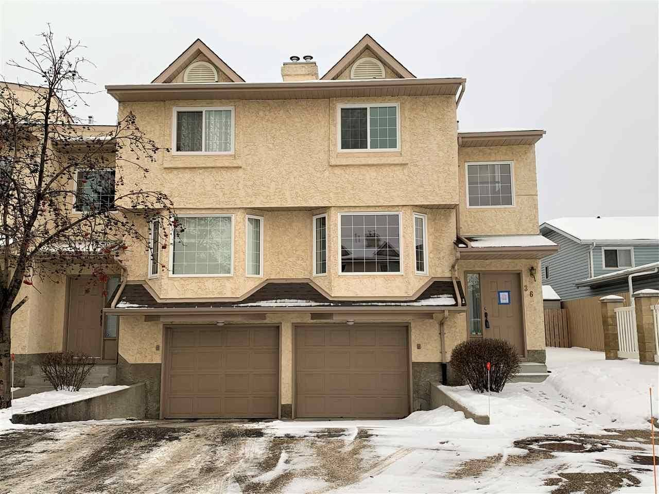 Townhouse for sale at 3645 145 Ave Nw Unit 36 Edmonton Alberta - MLS: E4184240