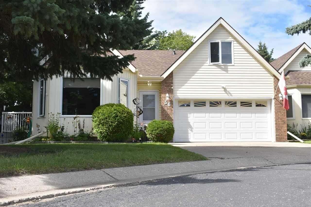 Townhouse for sale at 4410 52 Av Unit 36 Wetaskiwin Alberta - MLS: E4210441