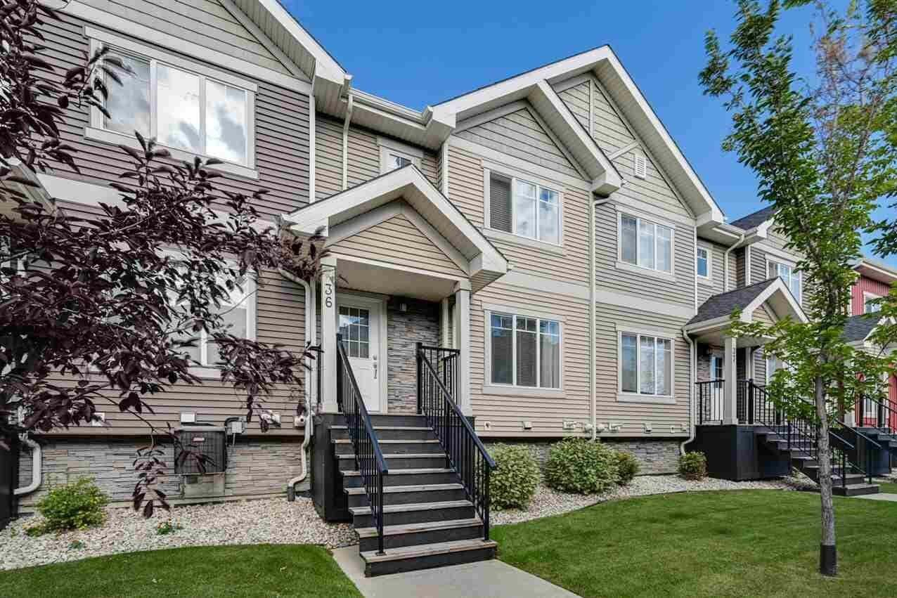 Townhouse for sale at 675 Albany Wy NW Unit 36 Edmonton Alberta - MLS: E4213033