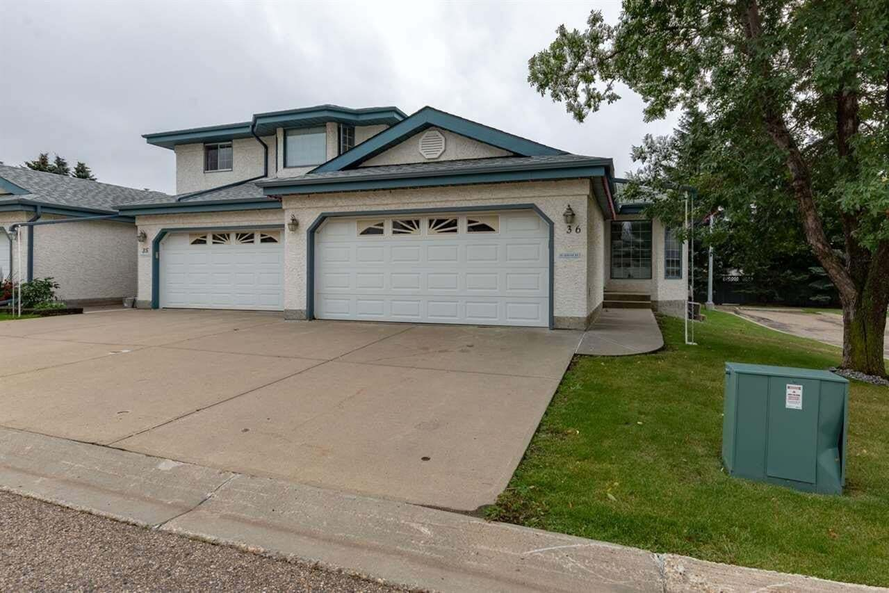 Townhouse for sale at 85 Gervais Rd Unit 36 St. Albert Alberta - MLS: E4202355