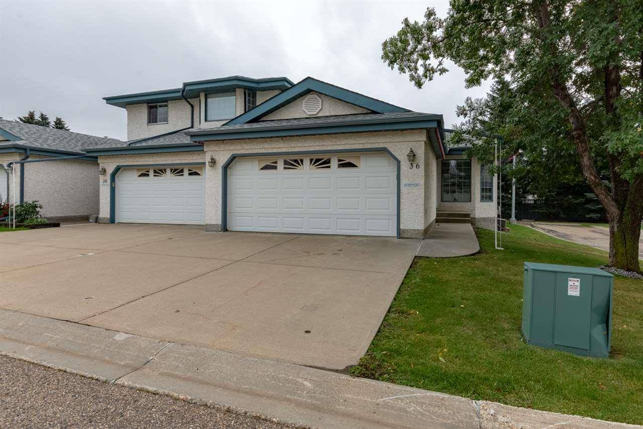 Townhouse for sale at 85 Gervais Rd Unit 36 St. Albert Alberta - MLS: E4194884
