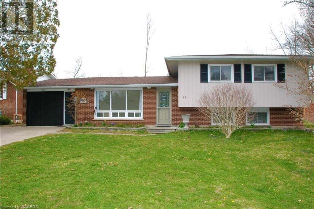 House for sale at 36 Archibald Pl Southampton Ontario - MLS: 256242