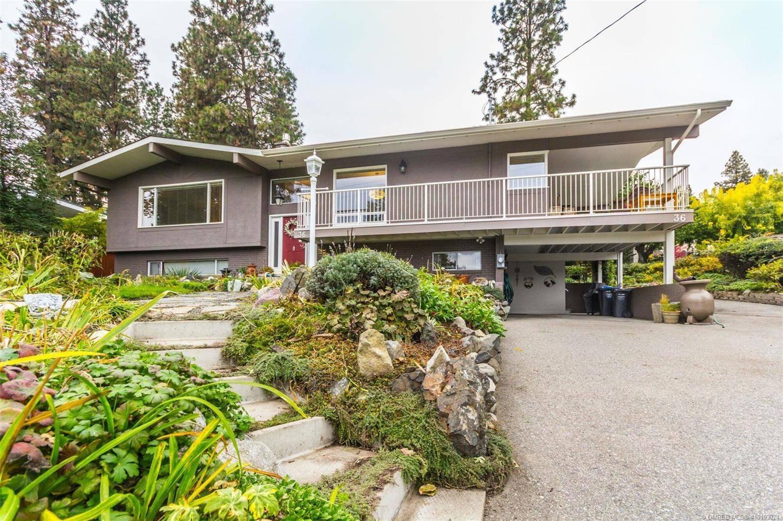 House for sale at 36 Bello Rd Kelowna British Columbia - MLS: 10193024