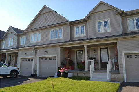 Townhouse for sale at 36 Butcher Cres Brantford Ontario - MLS: X4500645