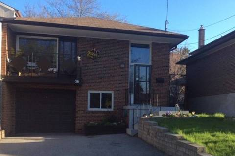 Townhouse for sale at 36 Canadine Rd Toronto Ontario - MLS: E4420373
