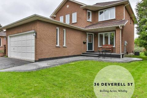 House for sale at 36 Deverell St Whitby Ontario - MLS: E4467788