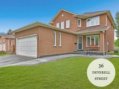 House for sale at 36 Deverell St Whitby Ontario - MLS: E4526079