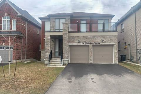 House for rent at 36 Grendon Upper Only Cres Brampton Ontario - MLS: W4734706