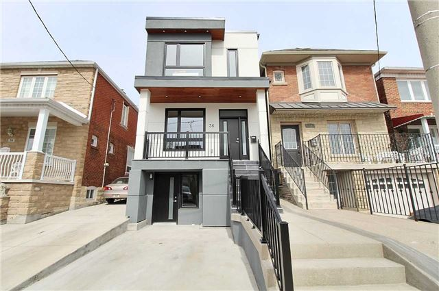 For Sale: 36 Hanson Road, Toronto, ON | 3 Bed, 3 Bath House for $1,399,999. See 18 photos!