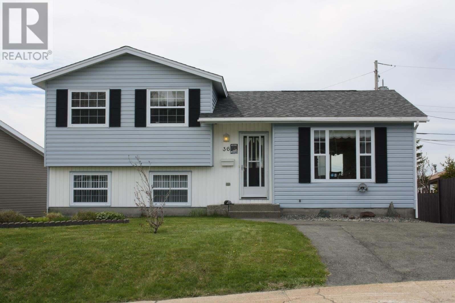 House for sale at 36 Hemmerjane Dr Mount Pearl Newfoundland - MLS: 1216978