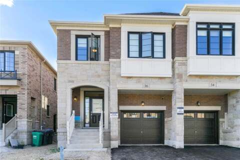 Townhouse for sale at 36 Hubbell Rd Brampton Ontario - MLS: W4771340