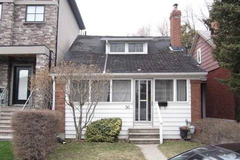 House for sale at 36 Methuen Ave Toronto Ontario - MLS: W4719606
