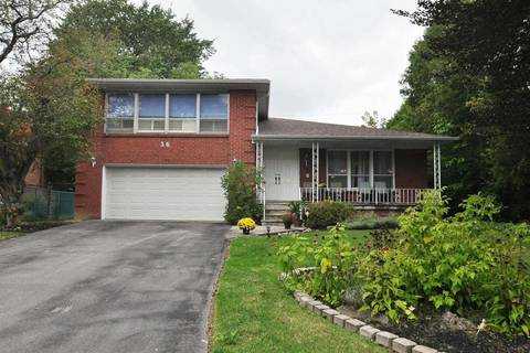 House for sale at 36 Poinsetta Dr Markham Ontario - MLS: N4718518
