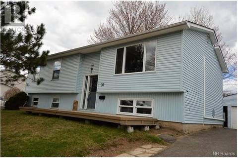 Townhouse for sale at 36 Stafford Dr Fredericton New Brunswick - MLS: NB019705