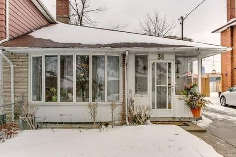 Townhouse for sale at 36 Stoneton Dr Toronto Ontario - MLS: E4365434