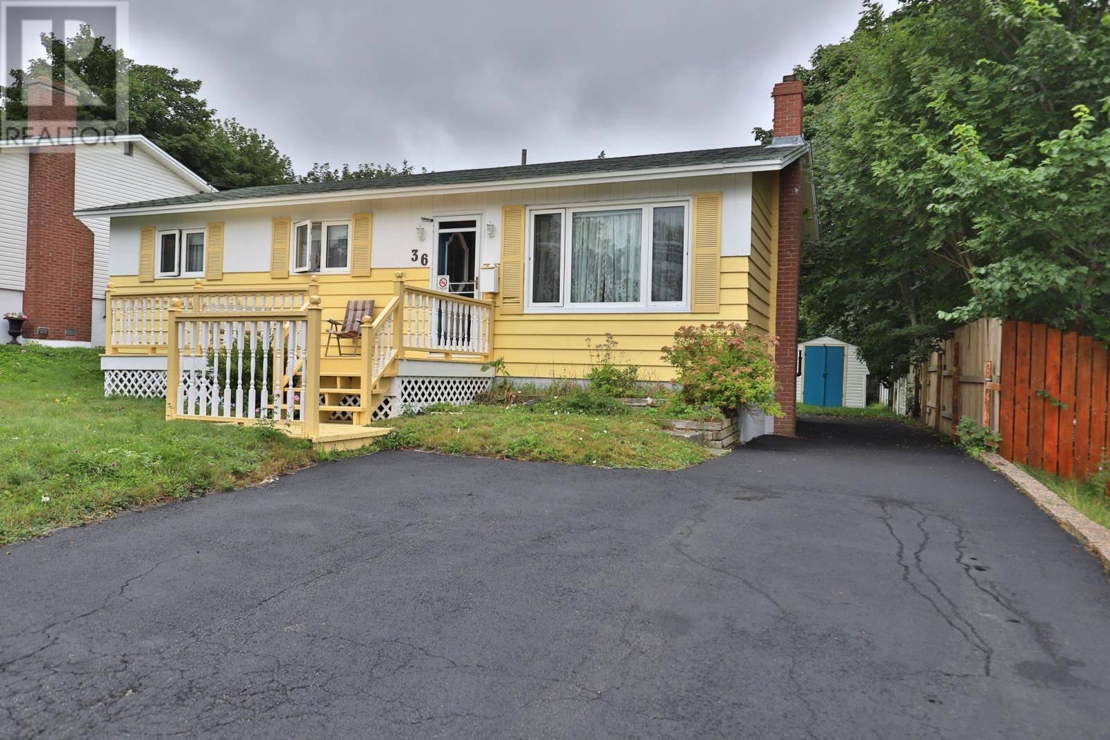 House for sale at 36 Toronto St St. John's Newfoundland - MLS: 1212053