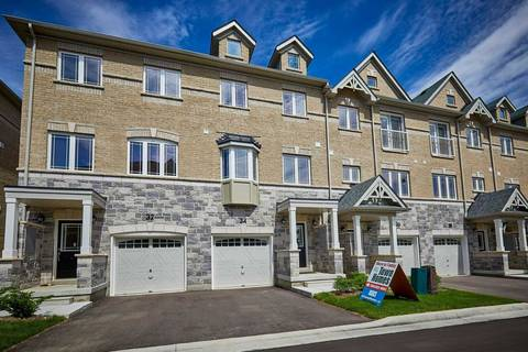 Townhouse for sale at 36 Waterstone Wy Whitby Ontario - MLS: E4652684