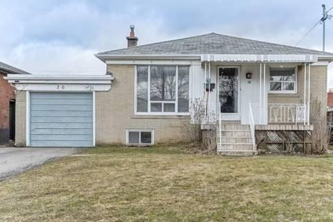 House for sale at 36 Whitburn Cres Toronto Ontario - MLS: W4728048