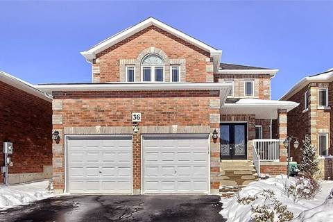 House for sale at 36 Wyman Cres Bradford West Gwillimbury Ontario - MLS: N4418868