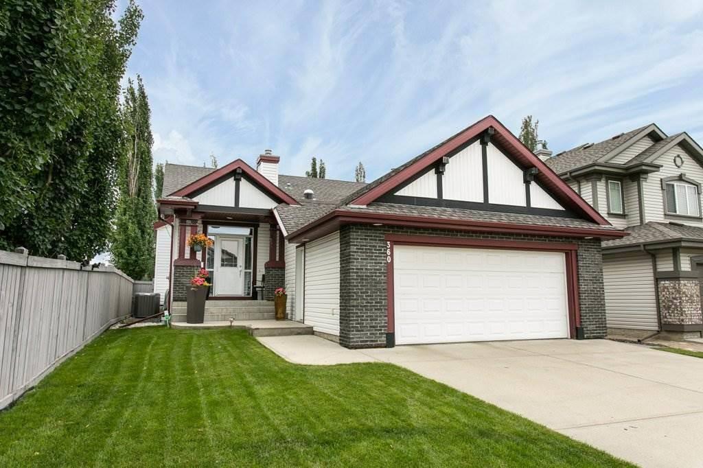 House for sale at 360 Calderon Cres Nw Edmonton Alberta - MLS: E4165420