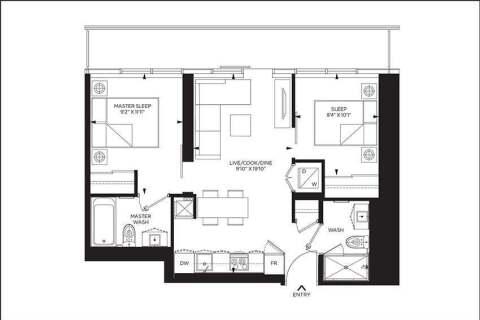 Apartment for rent at 159 Dundas St Unit 3607 Toronto Ontario - MLS: C4782615