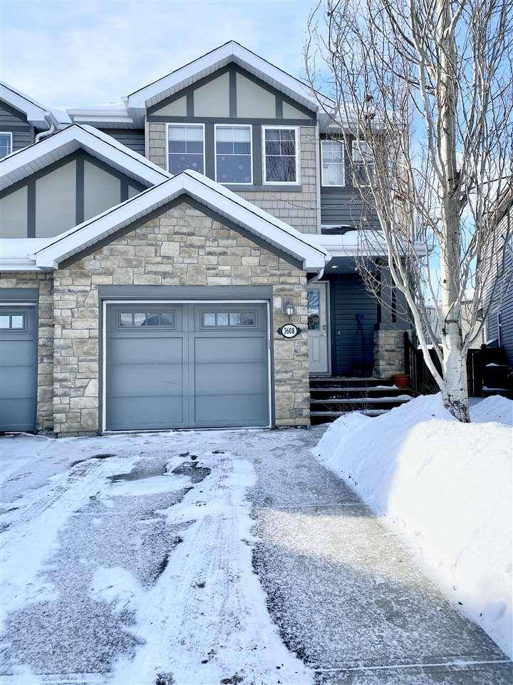 Townhouse for sale at 3608 Whitelaw By Nw Edmonton Alberta - MLS: E4187622