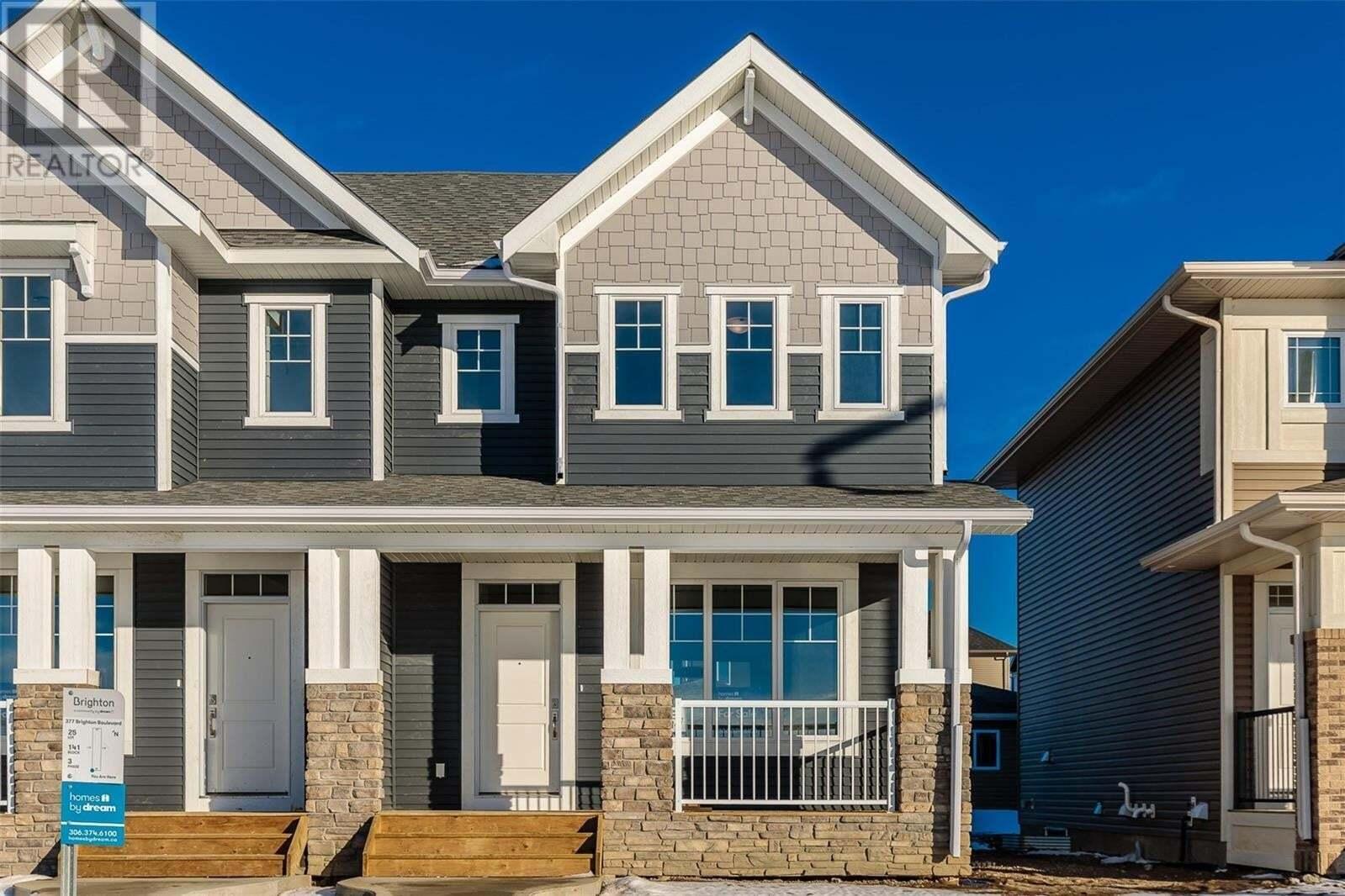 House for sale at 361 Brighton Blvd Saskatoon Saskatchewan - MLS: SK825754