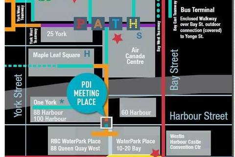 Apartment for rent at 100 Harbour St Unit 3610 Toronto Ontario - MLS: C4613006
