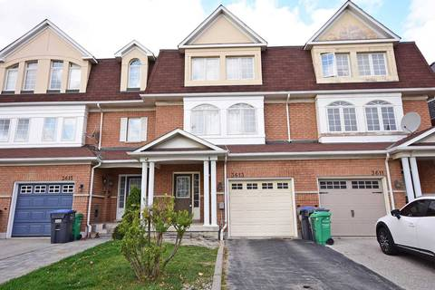 Townhouse for sale at 3613 Southwick St Mississauga Ontario - MLS: W4627351