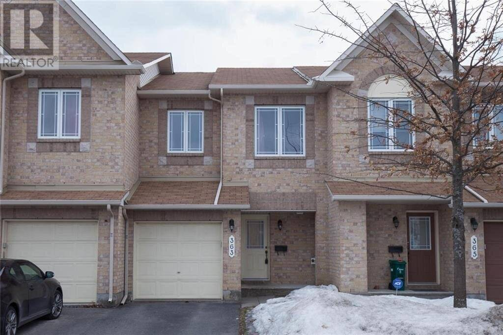 Townhouse for rent at 363 Bakewell Cres Ottawa Ontario - MLS: 1177725
